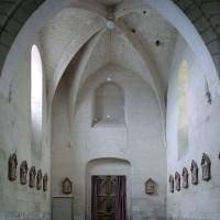 L'intérieur du clocher porche vu vers l'ouest (2008)