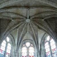 La voûte de l'abside vue vers l'est (2008)