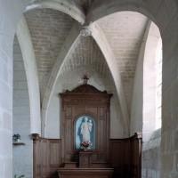 La chapelle à l'extrémité du bas-côté sud vue vers l'est (2007)