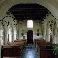 L'intérieur vu vers l'ouest (2007)