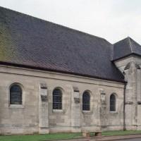 La nef et le transept vus du sud-ouest (2006)