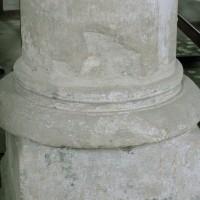 Base d'une pile de la nef (2007)