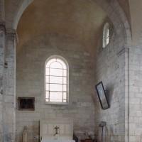 Le bras nord du transept vu vers le nord (2007)