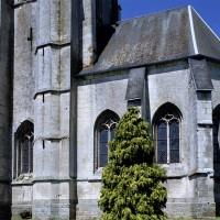 La travée du clocher et le choeur vus du sud-est (2005)