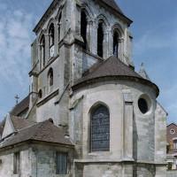 Le choeur et le clocher vus du sud-est (2006)