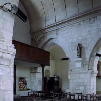 Vue partielle de la nef vers le nord-ouest (2006)