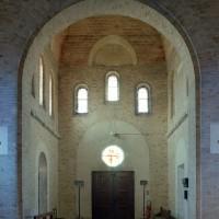 L'intérieur des parties basses du clocher (2006)