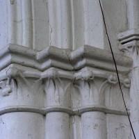 Chapiteau de la travée du clocher (2005)