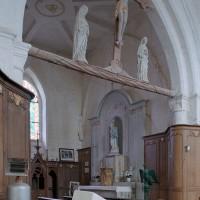 La chapelle nord vue vers le nord-est (2005)