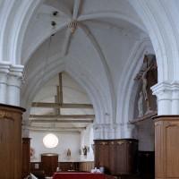 La travée du clocher vue vers l'ouest (2005)