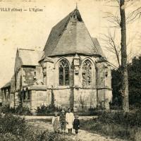 L'église en 1927