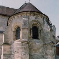 L'abside vue depuis le sud-est (2006)