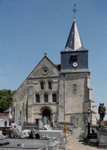 La façade vue depuis l'ouest (2007)