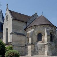L'église vue depuis le sud-est (2007)