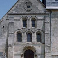 La partie centrale de la façade vue depuis l'ouest (2007)
