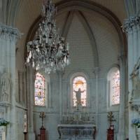 L'abside vue vers l'est (2007)