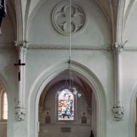 L'élévation d'une travée du mur nord de la nef (2007)