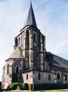 L'église vue du nord-est (2005)