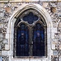Fenêtre du bas-côté nord de la nef (2005)