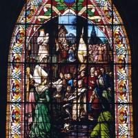 Vitrail de la façade ouest (2005)