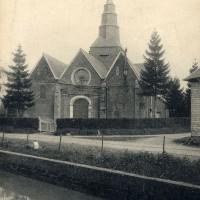 L'église avant l'incendie de 1933