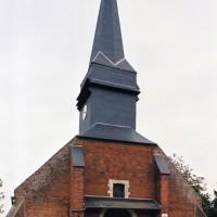 L'église vue de l'ouest (2005)