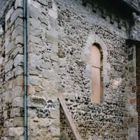 Le mur nord du choeur vu du nord-est (2003)