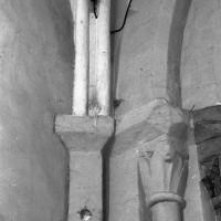 Retombée de voûte à l'angle sud-ouest du choeur (1995)