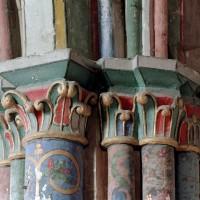 Chapiteaux du choeur de la fin du 12ème siècle (2003)