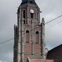 Le clocher vu depuis l'est (2003)