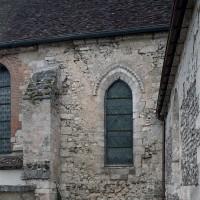 La seconde travée du choeur de la fin du 12ème siècle vue depuis le nord (2003)