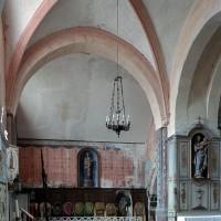 Le bras nord du transept et la chapelle nord, vus vers l'est (2003)