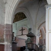 La croisée du transept vue vers le nord-ouest (2003)