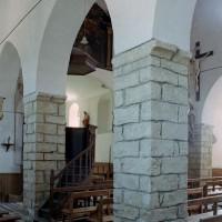 Arcades du mur nord de la nef vues vers le sud-est (2006)