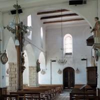 La nef vue vers le sud-ouest (2006)