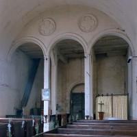 La base du clocher au revers de la façade (2002)