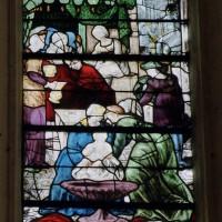 Détail d'un vitrail du choeur (2002)