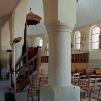 L'intérieur vu vers le sud-est depuis le bas-côté (2006)