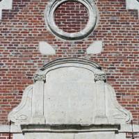 Détail du pignon de la façade ouest (2006)