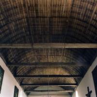 La charpente de la nef vue vers l'ouest (2003)