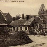 L'église et son environnement avant la Grande Guerre