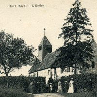 L'ancienne église, détruite durant la Guerre 14-18