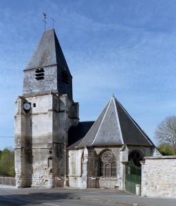 L'église vue de l'est (2007)