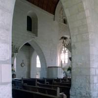 Vue partielle de la nef vers le nord-est (2007)