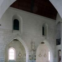 Le mur sud de la nef vu vers le sud-ouest (2007)