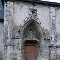 Le portail sud avant restauration (2004)