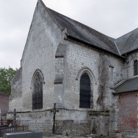 Le bras nord du transept vu du nord-ouest (2006)