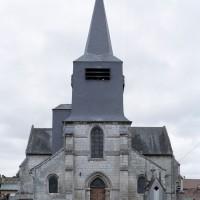 L'église vue de l'ouest (2006)