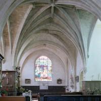 La croisée du transept vue vers le sud (2006)