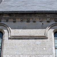 Fenêtres hautes du mur sud de la nef (2006)